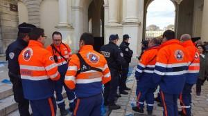 LA PROTECTION CIVILE ET LA POLICE DURANT LA SAINT NICOLAS